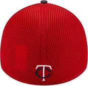 New Era Men's Minnesota Twins Navy 39Thirty Heathered Stretch Fit Hat product image