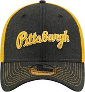 New Era Men's Pittsburgh Pirates Black 39Thirty Heathered Stretch Fit Hat product image