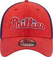 New Era Men's Philadelphia Phillies Red 39Thirty Heathered Stretch Fit Hat product image