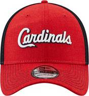 New Era Men's St. Louis Cardinals Red 39Thirty Heathered Stretch Fit Hat product image
