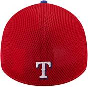 New Era Men's Texas Rangers 39Thirty Blue Heathered Stretch Fit Hat product image