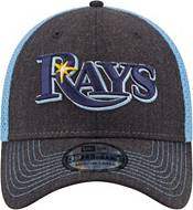 New Era Men's Tampa Bay Rays Navy 39Thirty Heathered Stretch Fit Hat product image
