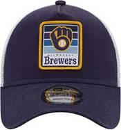 New Era Men's Milwaukee Brewers 9Twenty Navy Gradient Adjustable Hat product image