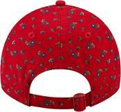 New Era Women's Los Angeles Angels Red 9Twenty Floral Adjustable Hat product image