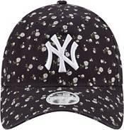 New Era Women's New York Yankees Navy Floral 9Twenty Adjustable Hat product image