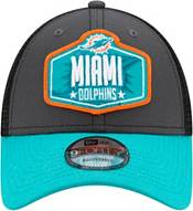 New Era Men's Miami Dolphins 2021 NFL Draft 9Forty Graphite Adjustable Hat product image