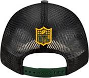 New Era Men's Green Bay Packers 2021 NFL Draft 9Forty Graphite Adjustable Hat product image