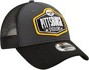 New Era Men's Pittsburgh Steelers 2021 NFL Draft 9Forty Graphite Adjustable Hat product image