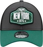 New Era Men's New York Jets 2021 NFL Draft 9Forty Graphite Adjustable Hat product image