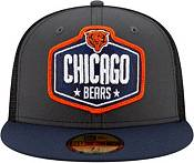 New Era Men's Chicago Bears 2021 NFL Draft 59Fifty Graphite Fitted Hat product image