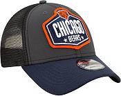 New Era Men's Chicago Bears 2021 NFL Draft 9Forty Graphite Adjustable Hat product image