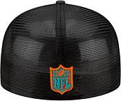 New Era Men's Miami Dolphins 2021 NFL Draft 59Fifty Graphite Fitted Hat product image