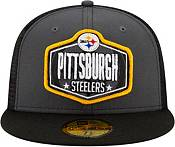 New Era Men's Pittsburgh Steelers 2021 NFL Draft 59Fifty Graphite Fitted Hat product image