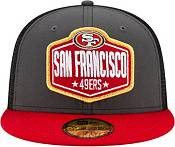 New Era Men's San Francisco 49ers 2021 NFL Draft 59Fifty Graphite Fitted Hat product image