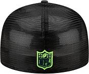 New Era Men's Seattle Seahawks 2021 NFL Draft 59Fifty Graphite Fitted Hat product image