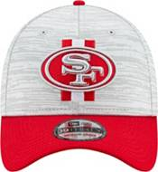 New Era Men's San Francisco 49ers Grey Sideline 2021 Training Camp 39Thirty Stretch Fit Hat product image