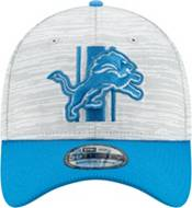 New Era Men's Detroit Lions Grey Sideline 2021 Training Camp 39Thirty Stretch Fit Hat product image