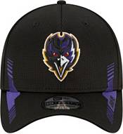 New Era Men's Baltimore Ravens Black Sideline 2021 Home 39Thirty Stretch Fit Hat product image