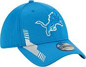 New Era Men's Detroit Lions Blue Sideline 2021 Home 39Thirty Stretch Fit Hat product image