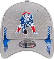 New Era Men's New England Patriots Sideline 2021 Home 39Thirty Grey Stretch Fit Hat product image