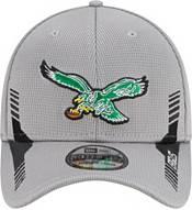 New Era Men's Philadelphia Eagles Sideline 2021 Home 39Thirty Grey Stretch Fit Hat product image