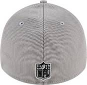 New Era Men's Las Vegas Raiders Sideline 2021 Home 39Thirty Grey Stretch Fit Hat product image