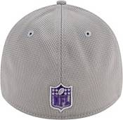 New Era Men's Minnesota Vikings Sideline 2021 Home 39Thirty Grey Stretch Fit Hat product image