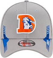 New Era Men's Denver Broncos Sideline 2021 Home 39Thirty Grey Stretch Fit Hat product image