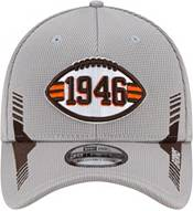 New Era Men's Cleveland Browns Sideline 2021 Home 39Thirty Grey Stretch Fit Hat product image