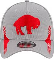New Era Men's Buffalo Bills Sideline 2021 Home 39Thirty Grey Stretch Fit Hat product image