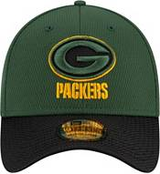 New Era Men's Green Bay Packers Sideline 2021 Road 39Thirty Green Stretch Fit Hat product image
