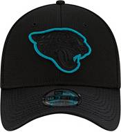 New Era Men's Jacksonville Jaguars Sideline 2021 Road 39Thirty Black Stretch Fit Hat product image