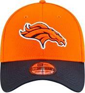 New Era Men's Denver Broncos Sideline 2021 Road 39Thirty Orange Stretch Fit Hat product image