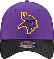 New Era Men's Minnesota Vikings Sideline 2021 Road 39Thirty Purple Stretch Fit Hat product image
