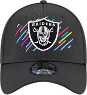 New Era Men's Las Vegas Raiders Crucial Catch 39Thirty Grey Stretch Fit Hat product image