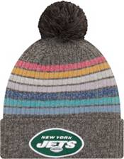 New Era Women's New York Jets Crucial Catch Grey Knit product image