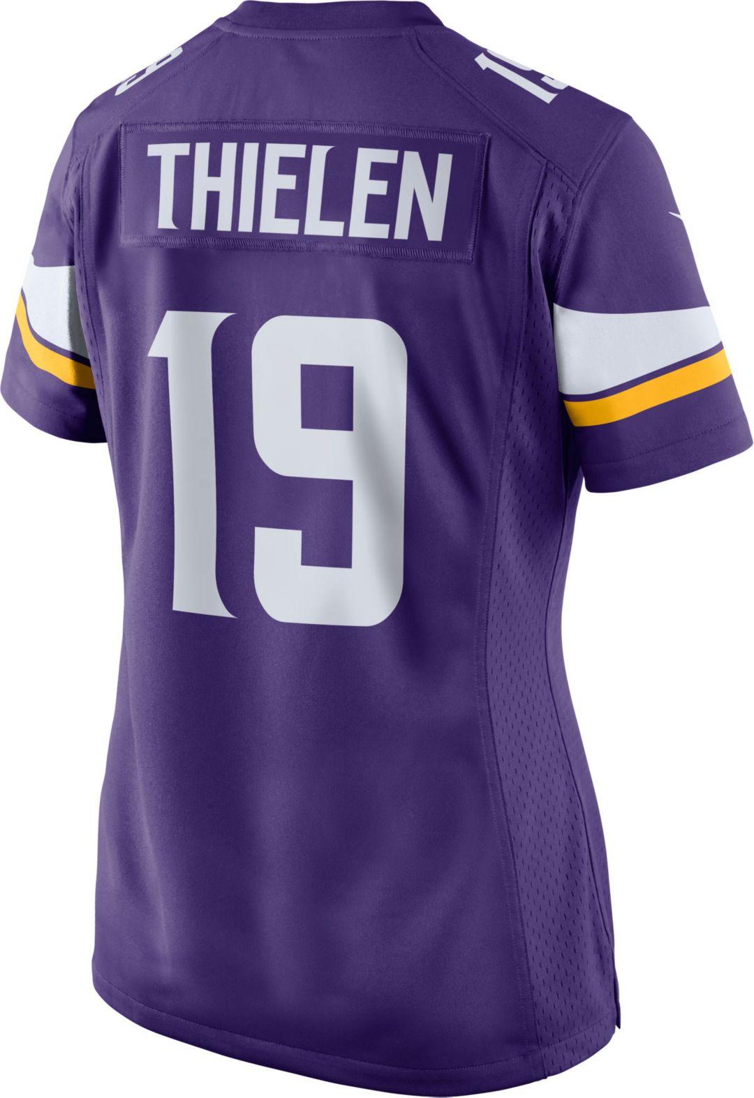 e2231515 Nike Women's Home Game Jersey Minnesota Vikings Adam Thielen #19 ...