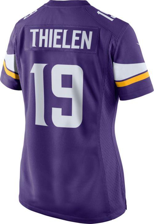Top Nike Women's Home Game Jersey Minnesota Vikings Adam Thielen #19  hot sale
