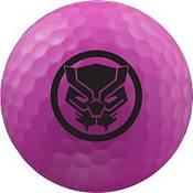Volvik VIVID Matte Marvel Black Panther Edition Golf Balls + Hat Clip Set – 4 Pack product image