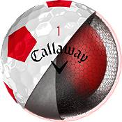 Callaway 2018 Chrome Soft Truvis Red Golf Balls product image