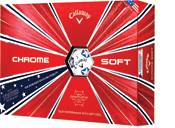 Callaway 2019 Chrome Soft Truvis Stars and Stripes Golf Balls product image