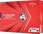 Callaway 2020 Chrome Soft Truvis Red Golf Balls product image