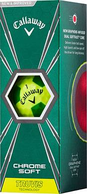 Callaway 2018 Chrome Soft Truvis Yellow Golf Balls – Sports Matter Special Edition product image
