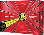 Callaway 2018 Chrome Soft Truvis Yellow Golf Balls product image