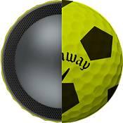 Callaway 2018 Chrome Soft X Truvis Yellow Golf Balls product image
