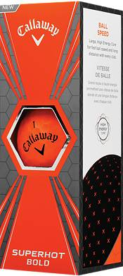 Callaway Superhot BOLD Orange Golf Balls – 15 Pack product image