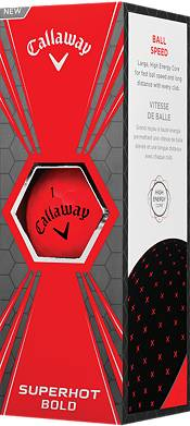 Callaway Superhot BOLD Red Golf Balls – 15 Pack product image