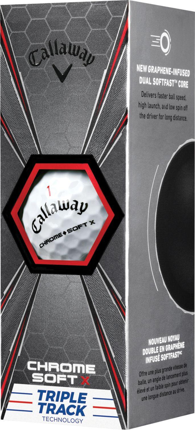 Callaway 2018 Chrome Soft X Triple Track Personalized Golf Balls