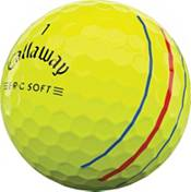Callaway 2021 ERC Soft Triple Track Yellow Personalized Golf Balls product image