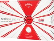 Callaway 2019 Supersoft Matte Red Golf Balls product image